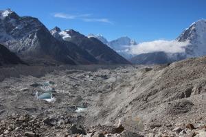 Glacier in the Valley