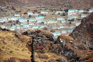 Kamchung Village from nearby hill