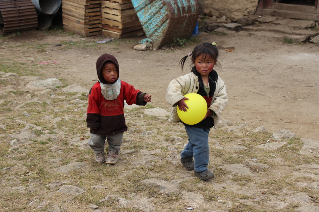 Local Kids from Khumjung