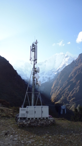Nepalese Comms Tower