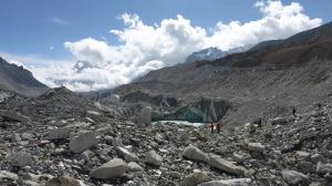 On The Glacier @ Base Camp