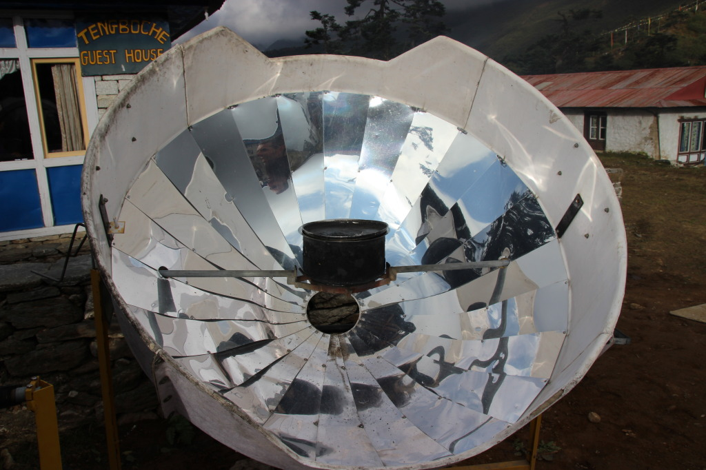 Solar Cooking - Boiling Water