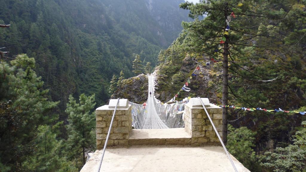 Suspension Bridge - Close View