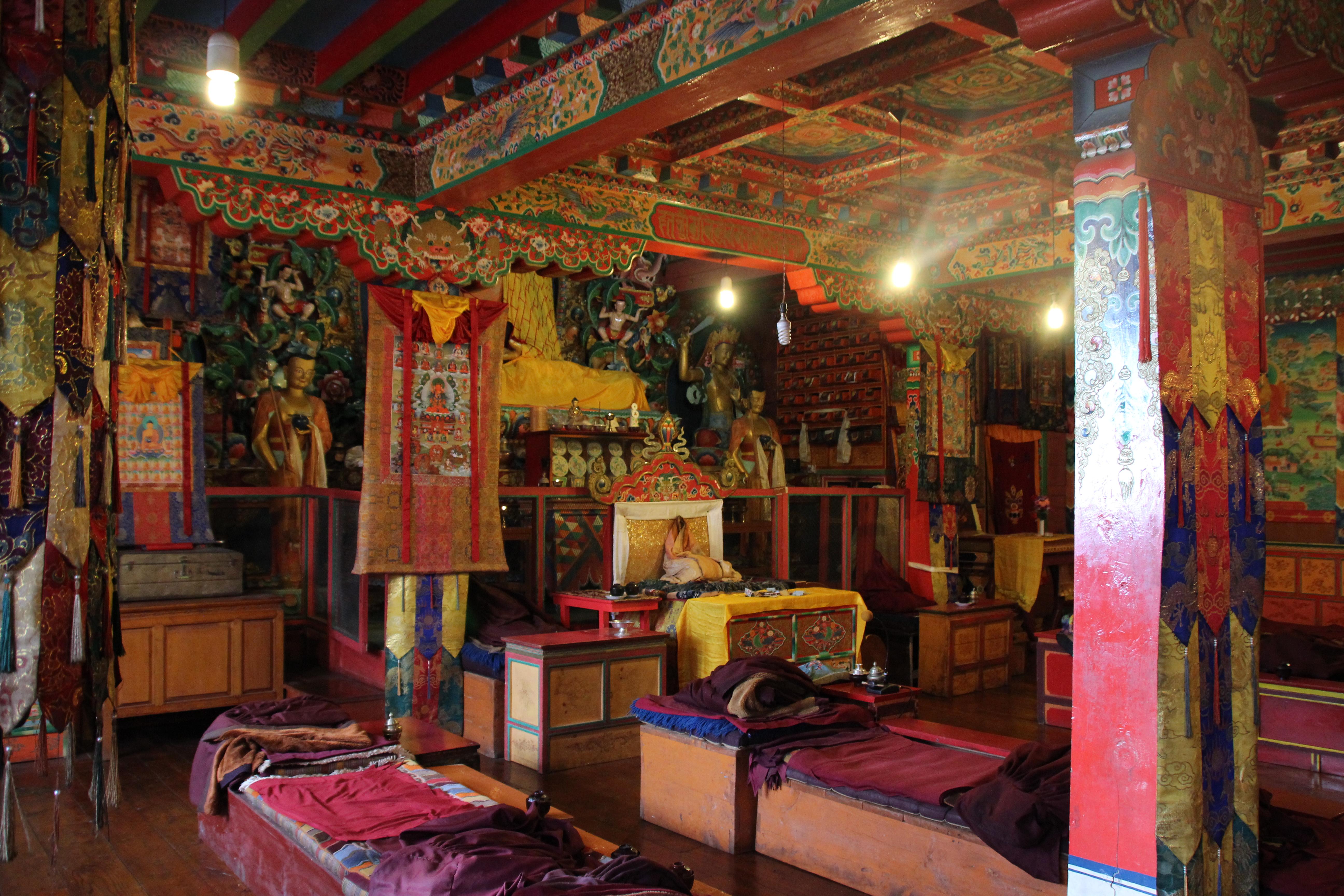 Tengboche Monastery - Inside