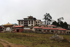 Tengboche Monastery - Outside