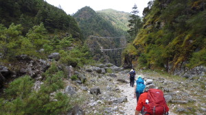 Trek to Suspension Bridges