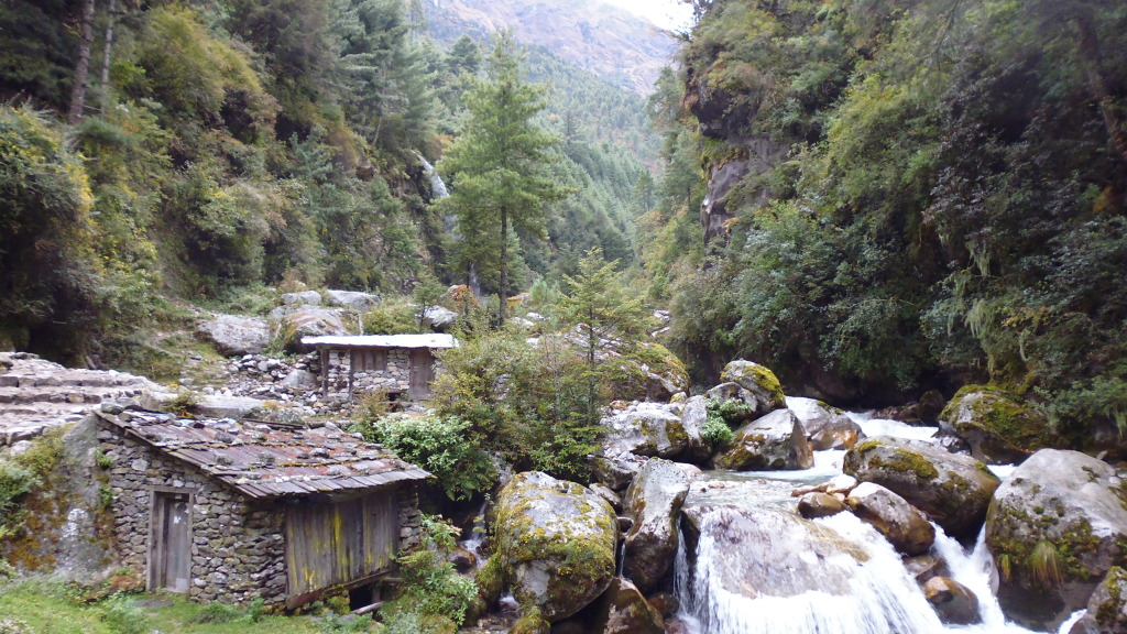 Traditional Cabins Along the Everest Trails.