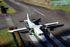 Planes on Lukla Airstrip
