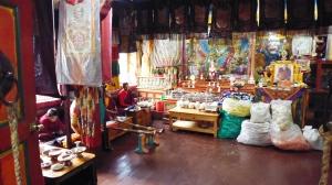 Inside Thaktul Monastery