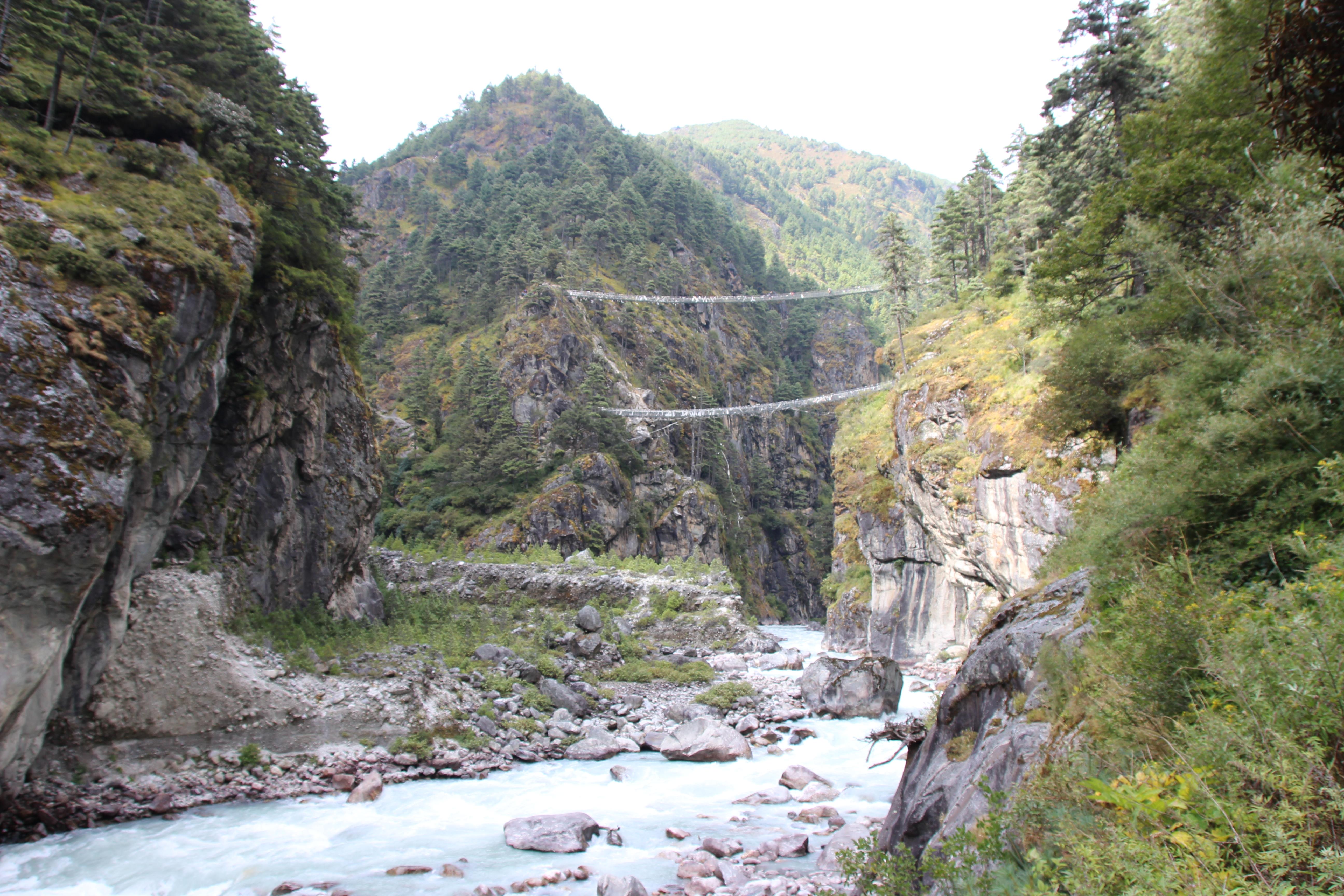 Suspension Bridges - Far View (2)