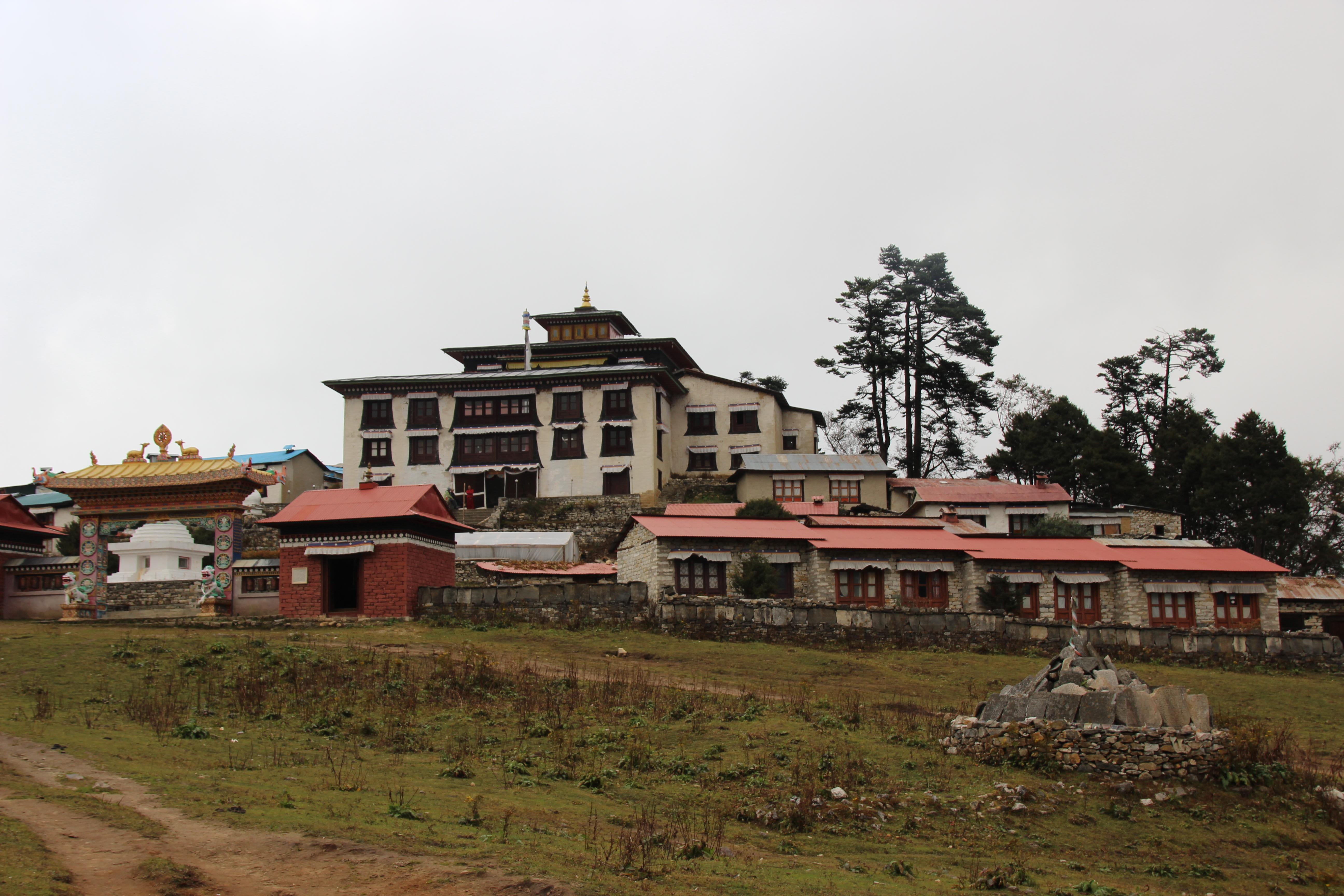 Tengboche Monastery - Outside