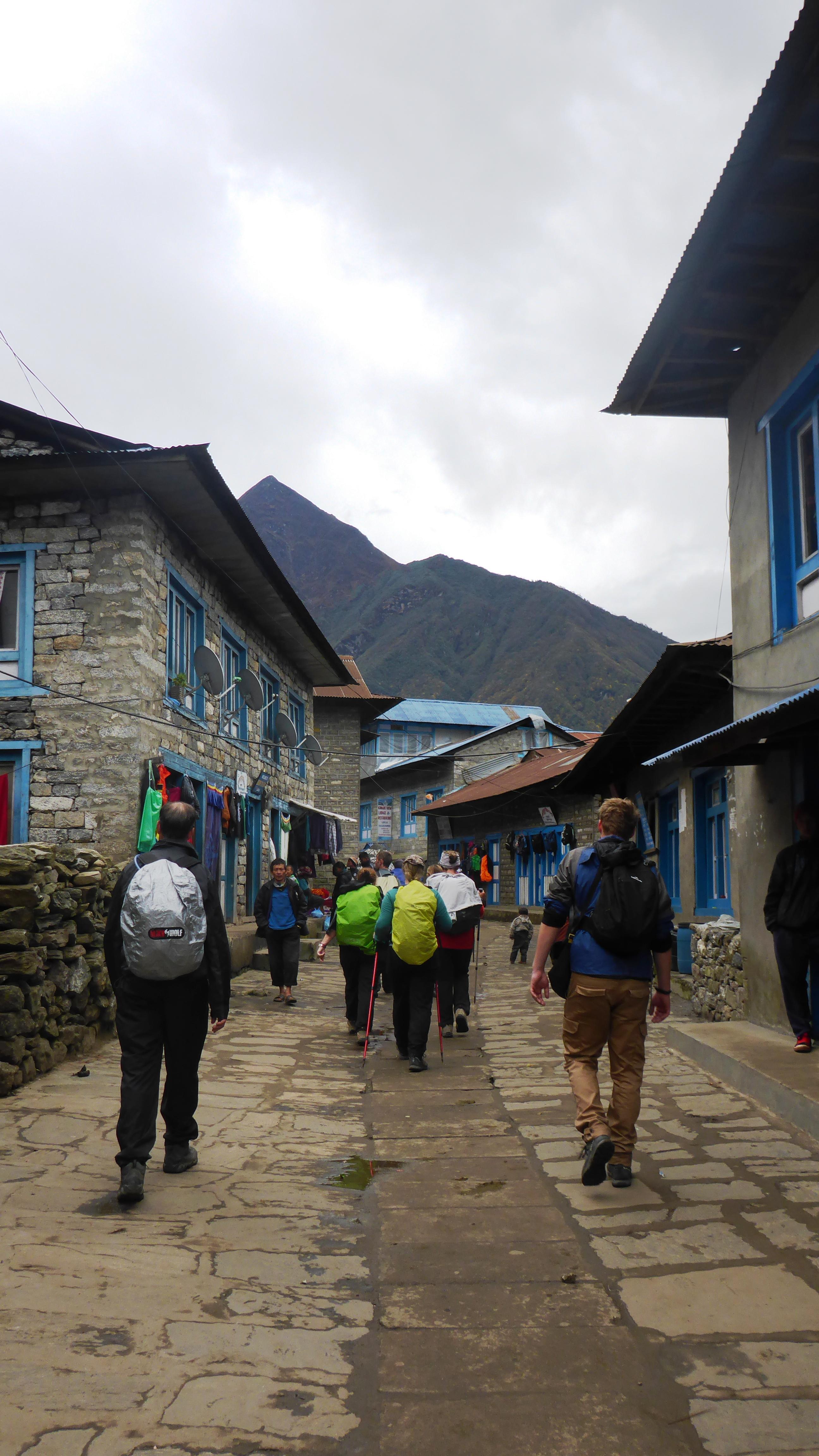 Walking Back Into Lukla