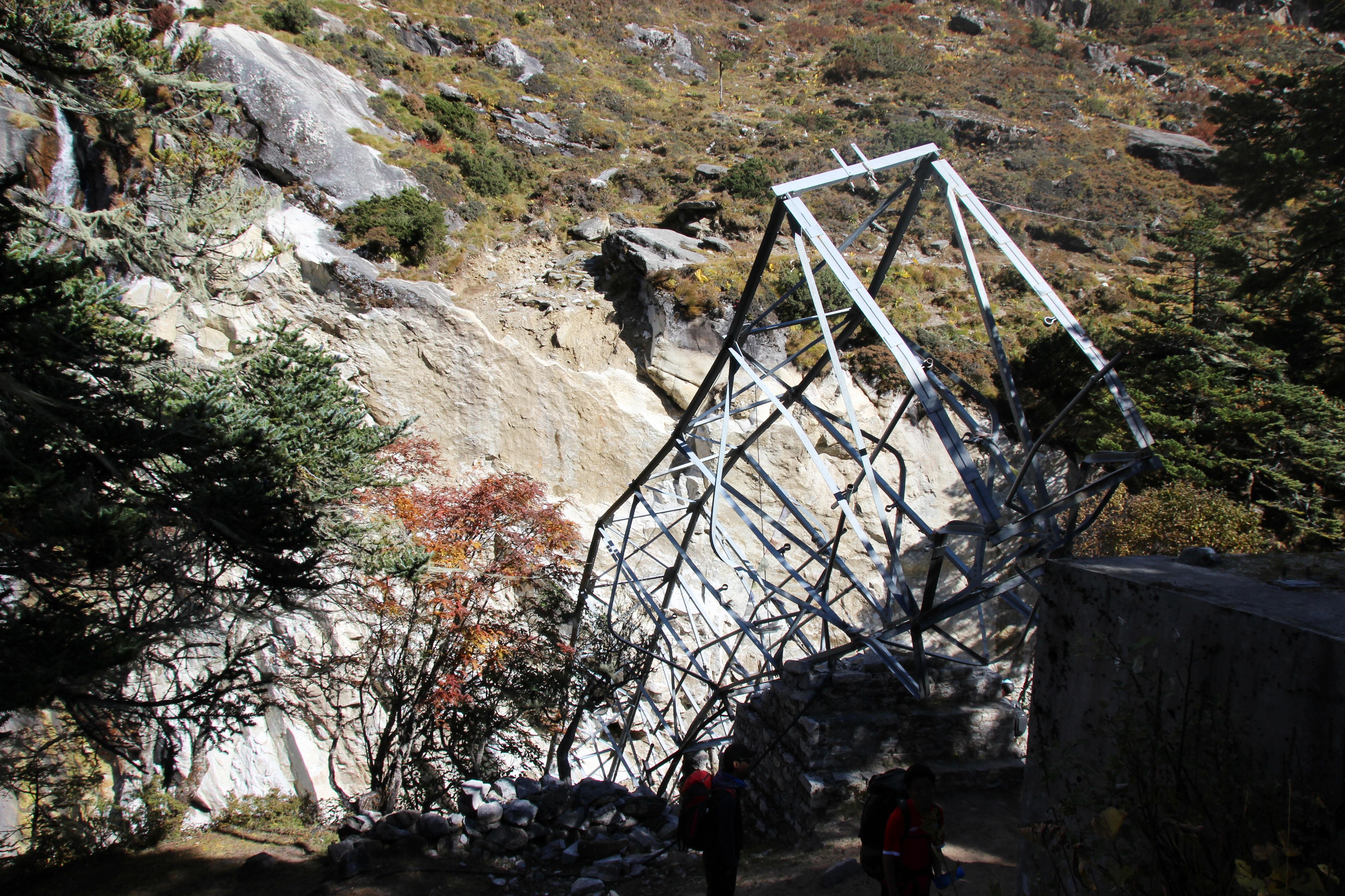 Wrecked Bridge -Side
