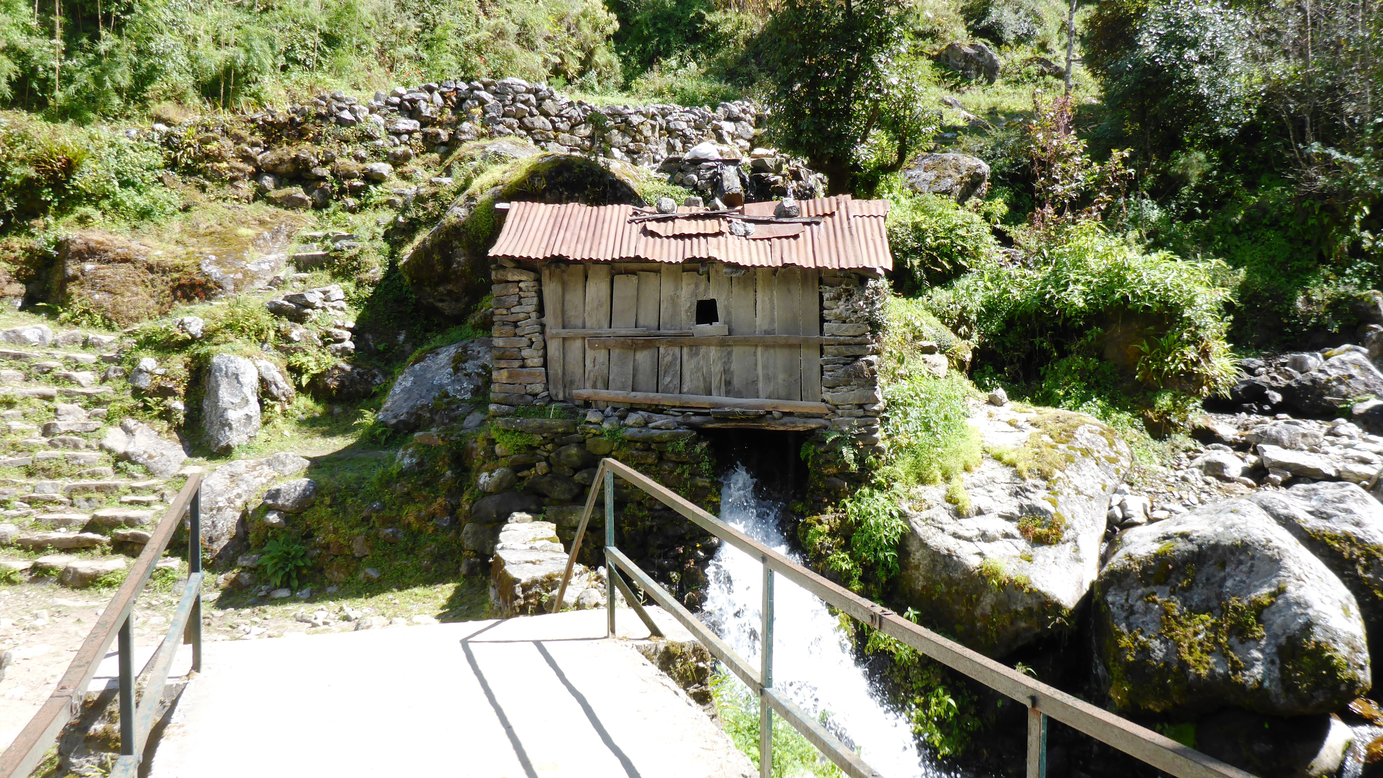 Bridge & Hut