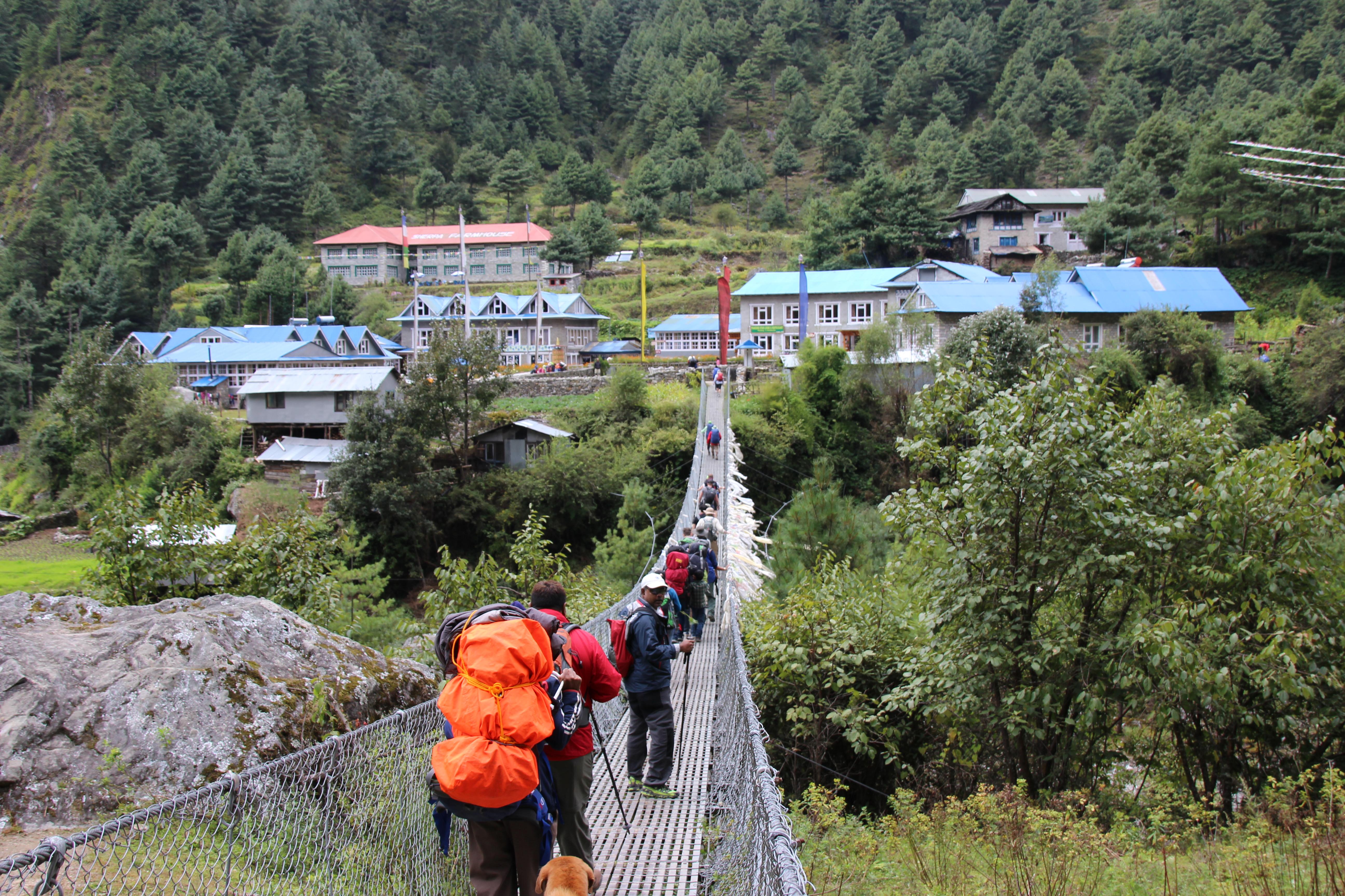First Bridge Crossing
